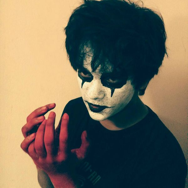 it was for Halloween Cosplay The Crow Face Of EyeEm