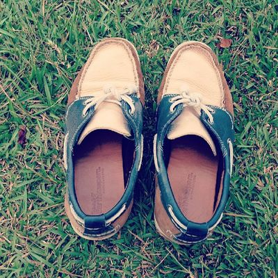 Go picnic with my Timberland Boatshoes