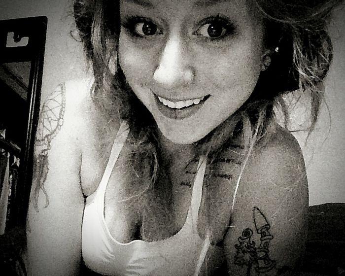 Blackandwhite Dreads Girlswithtattoos Girlswithplugs Enjoying Life Tattooedmom Oneday