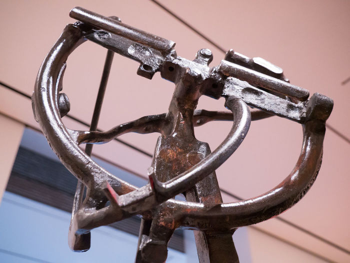 Metal sculpture at MoMA NYC Iron Moma N.Y. Moma NY Art Iron - Metal Metal Metalwork Moma Sculpture