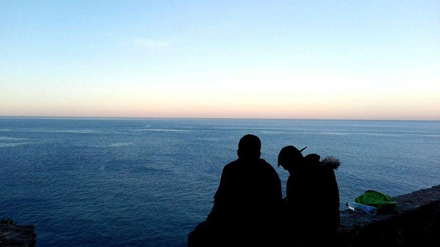 Landscape Friends Sea And Sky