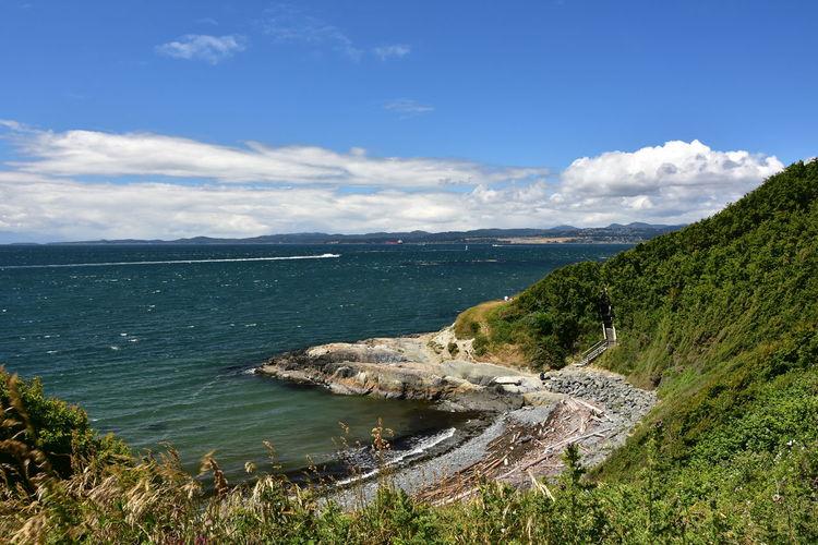 Beacon Hill Park / Victoria, BC Cliff Strait Of Juan De Fuca Vancouver Island Seascape Beacon Hill The Traveler - 2018 EyeEm Awards Rocky Coastline Seascape Rugged Coastline