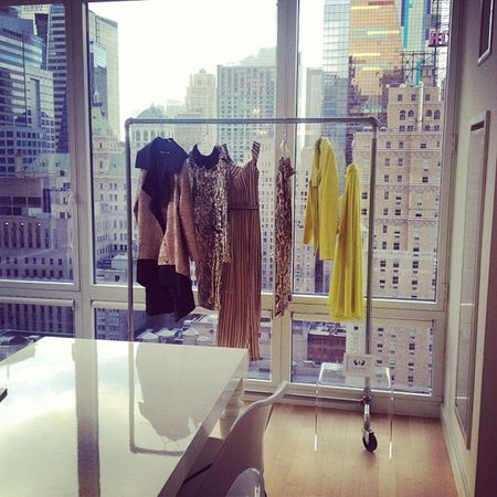 """Oh look my """"Betty"""" Collection almost sold in Creative Showroom in New York... So many surprises, stay tuned Betty Creative Newyork Feelingblessed showroom love for fashion ??? ??? drenushaxharra"""