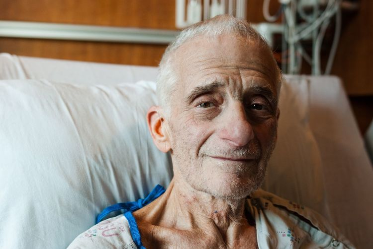 One Man Only Patient Hospital Looking At Camera Real People Ohsu Pdx Old Man Portrait Close-up Cancer Volunteer Indoors  Brown Eyes Compassion Community Man Day First Eyeem Photo EyeEmNewHere Uniqueness New Talent Second Acts