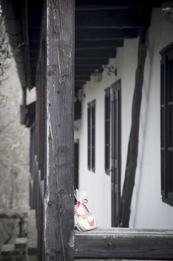 village house in hollókő Easter Hollókö House Houses And Windows Hungary Life Pentax Srping Vilage Village House