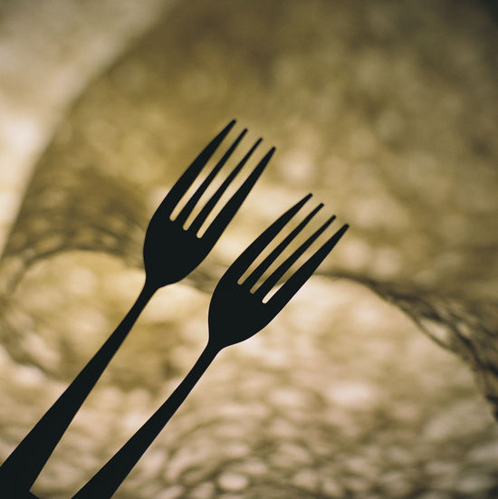Cutlery still life concept creative design Creative Photography Cross Diet Fork Hungry Tableware Thinking WILLPOWER Challenge Close-up Concept Creative Day Design Eat Focus On Foreground Fork Idea Logic No People Outdoors