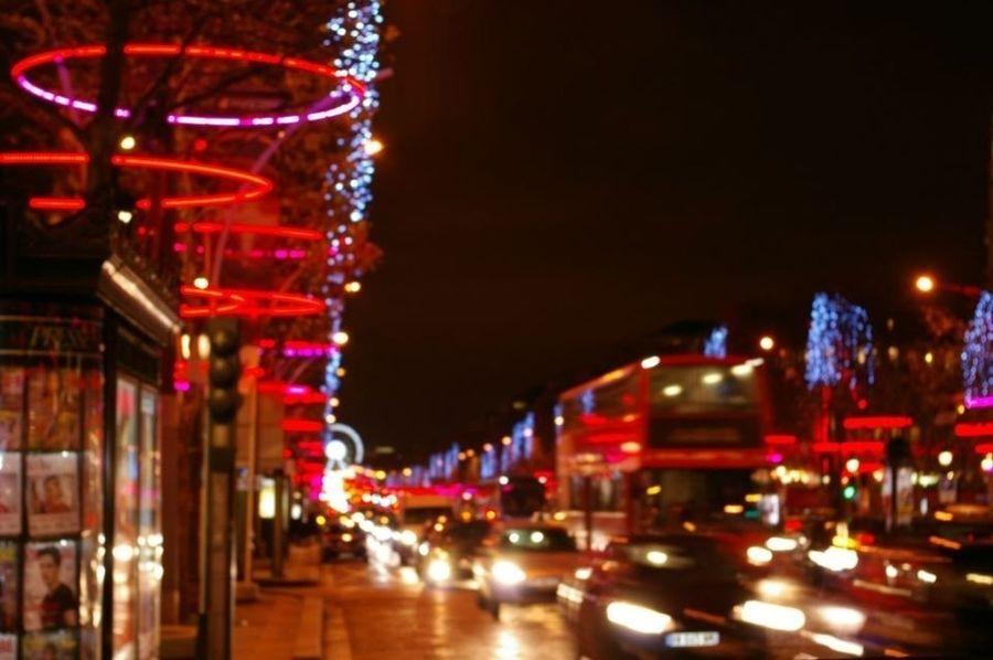 City 2.0 - The Future Of The City Paris - Champs Elysées . France