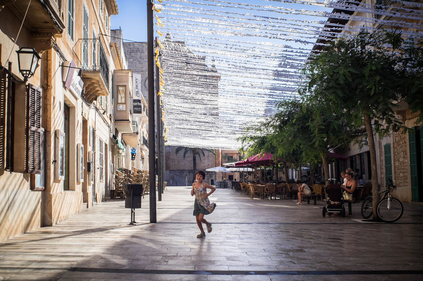 Built Structure Architecture Street Day Building Exterior City Outdoors Real People Large Group Of People Men Road Women Water People Adult Sky Adults Only Freshness Mallorcaphotographer Manuelkiese Mallorcaisland Santanyi Mallorca (Spain)
