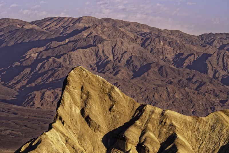 Zabriskie Point sunrise. Arid Climate Day Death Valley Geology Landscape Mountain Mountain Range Nature No People Sunrise The Great Outdoors - 2017 EyeEm Awards Zabriskie Point