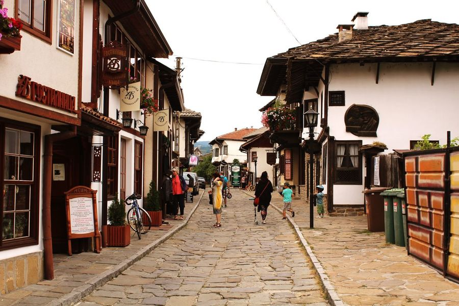 Old Town in Bulgaria Tryavna Трявна