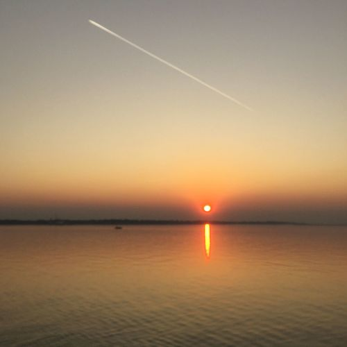 Sunset Sun Nature Beauty In Nature Scenics Water Sea Sky