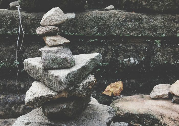 Outdoors Rock Stone Stacked Up Built Structure EyeEmNewHere No People Aesthetics