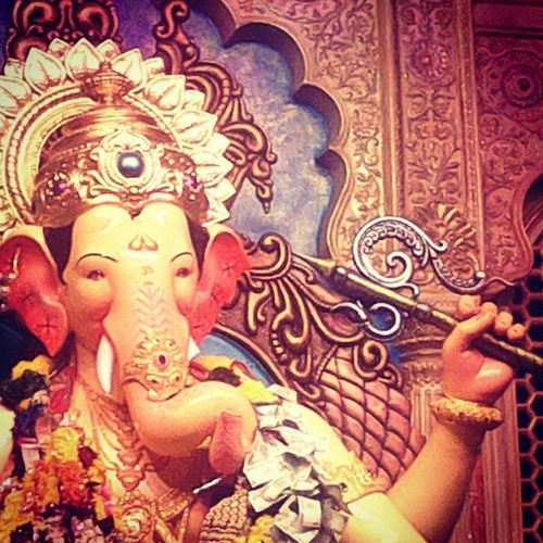 LalbaugchaRaja Vijayso GanpatiFest Indianculture India Festival 10days HappinessEverywhere GanpatiBappaMorya