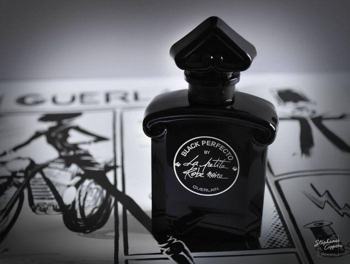 Black Perfecto by La Petite Robe Noire Lapetiterobenoire GUERLAIN Perfumes Perfumecollection Black & White