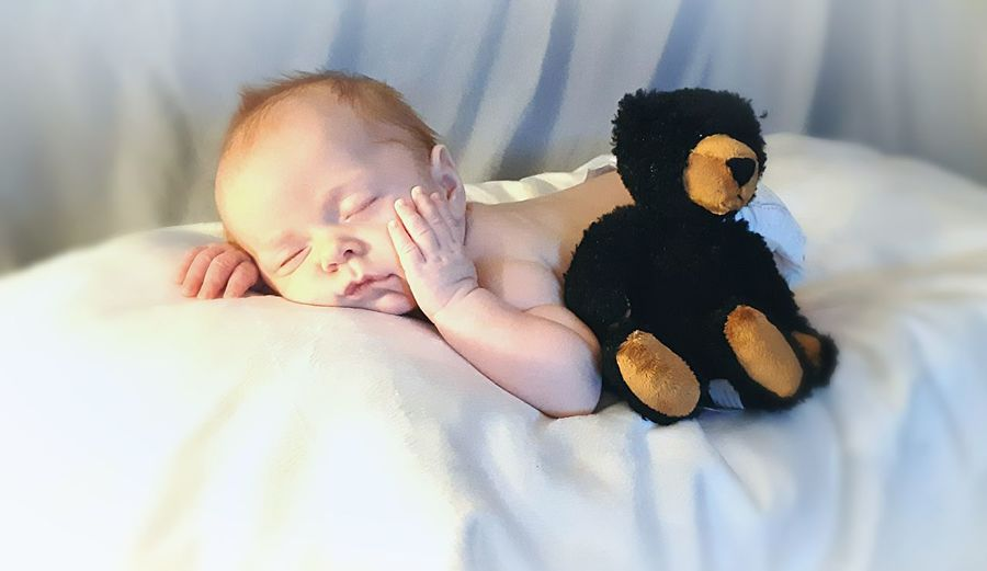 baby with his
