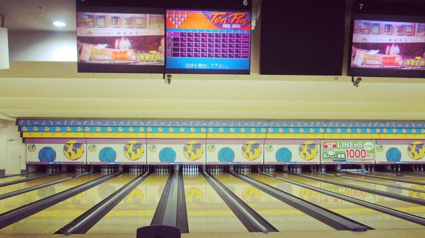 Indoors  No People Night Bowling Time Lovely Bowling Japan Zenfone2 Photography Scorecard