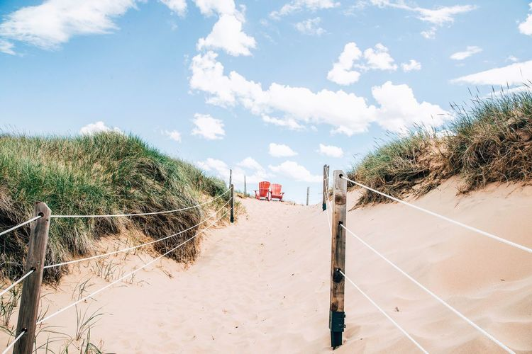 beach vibes EyeEmNewHere Sunny Prince Edward Island Summer Sky Beach EyeEmNewHere