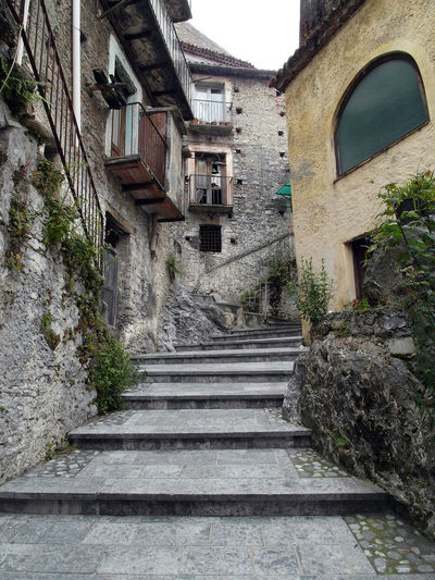 Glimpse of the historic center with steps Historic Center Italia Old Town South Italy Architecture Building Exterior Buildings Built Structure Calabria Glimpse No People Outdoors Staircase Steps Steps And Staircases Travel Destination Verbicaro