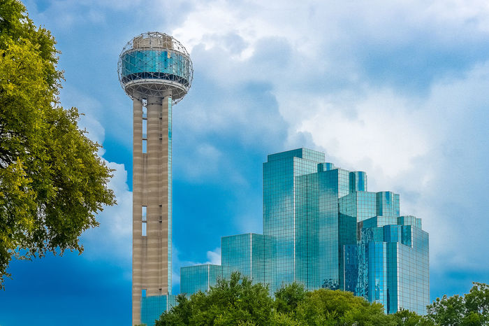 City of Dallas. Canvas Painting Dallas Post Postcard Postcode Postcards Poster Texas USA United States Architecture Building Exterior Calendar Canvas Art Cityscape Dallas Skyline Posters Skyscraper