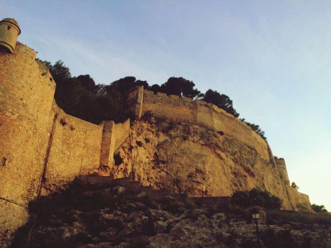 Spain Nature Castle Denia Landscape