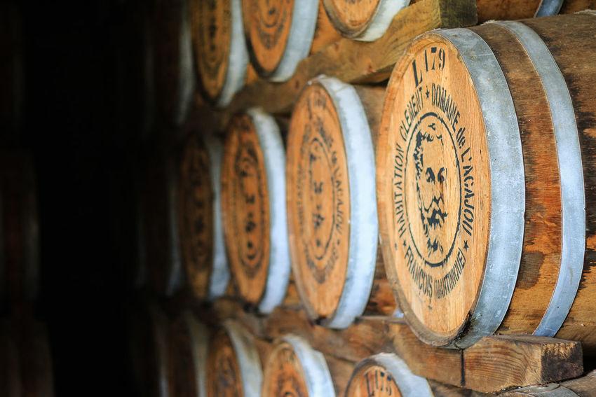 Destillery Martinique Rum Barrel Caribbean In A Row Rhum Wine Cask Wood - Material