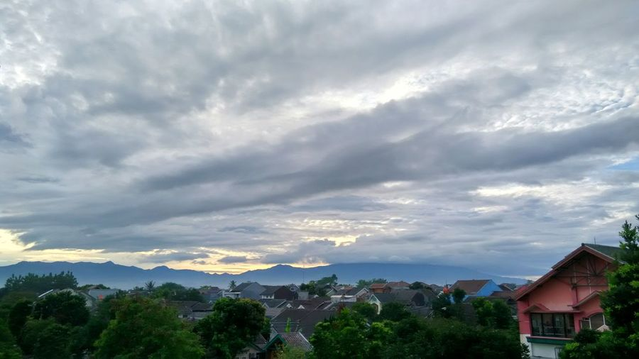 Mountain Cloud - Sky Mountain Range Scenics Landscape Nature Sunbeam Fog Mountain Peak Built Structure Gunung Gede Bogor, Indonesia Clouds And Sky Cloudy