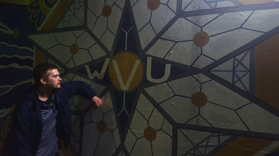 WVU Mural Art Mural Model Human HumanArt Human Being