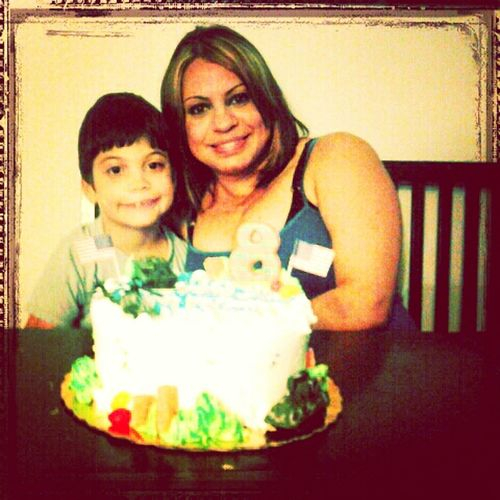 My Baby Birthday :) My Baby And Me ♥ I ♥ My Baby 8 Years!!