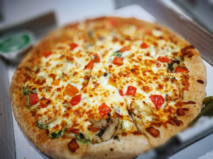 Cheese Cheese Pizza Cheesy Close-up Food Food And Drink Indulgence Papa Johns Pizza Temptation