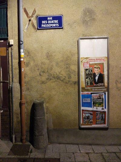 Rue des quatres passeports Clermont-ferrand