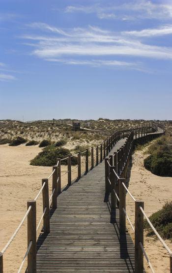 Blue Boardwalk