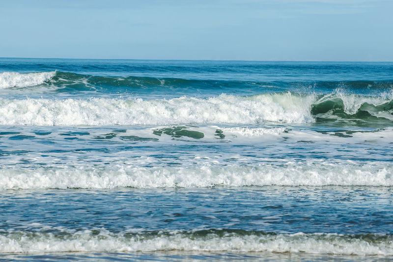Small waves at