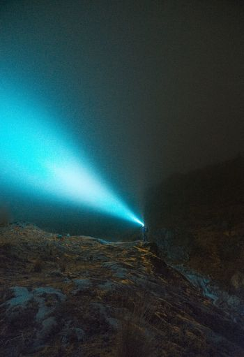 Lost In The Landscape Astronomy Beauty In Nature Blue Nature Night No People Outdoors Scenics Sky Tranquility
