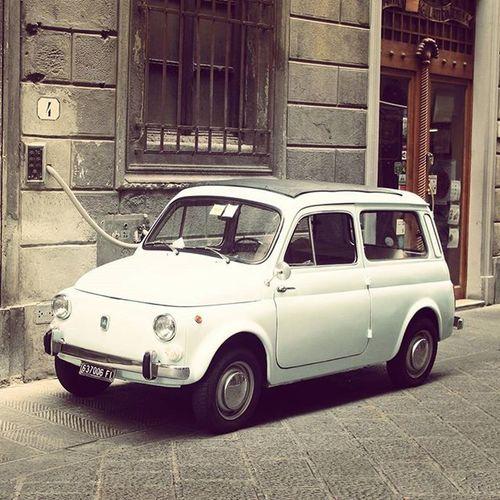 Fiat 500 Fiat500 Cinquecento Fiat500wagon Italy Italianstyle