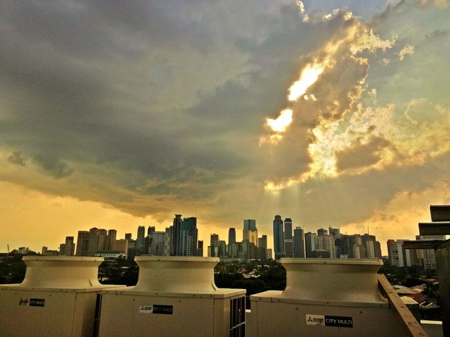 Clouds And Buildings Eyem Philippines OppoN1