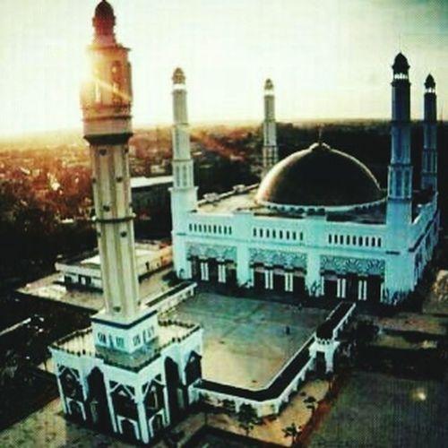 Another view masjid mujahidin. Aerial Shot Masjid Awasomeview Taking Photos Peace And Love Photography Hello World