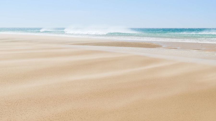 Beach Land Sea Sand Water Beauty In Nature Scenics - Nature Motion Wave Tranquil Scene Nature Horizon Over Water Sky Horizon Tranquility No People Outdoors Day