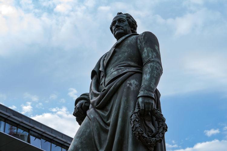 Goethe denkmal in frankfurt am main