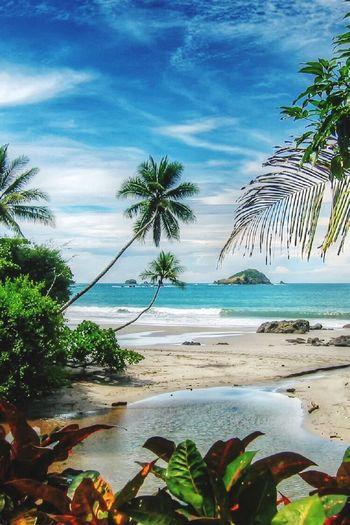 Manuel Antonio Costa Rica Beach #sun #nature #water #TagsForLikes.com #TagsForLikesApp #TFLers #ocean #lake #instagood #photooftheday #beautiful #sky #clouds #cloudporn #fun #pretty #sand #reflection #amazing #beauty #beautiful #shore #waterfoam #seashore #waves #wave