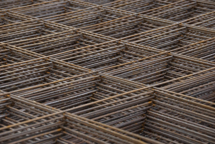 Mesh Abundance Architecture Backgrounds Brown Building Close-up Day Full Frame In A Row Industry Iron - Metal Large Group Of Objects Mesh Wire Fence Metal Metallic No People Pattern Repetition Rusty Rusty Metal Stack Textured  Warehouse