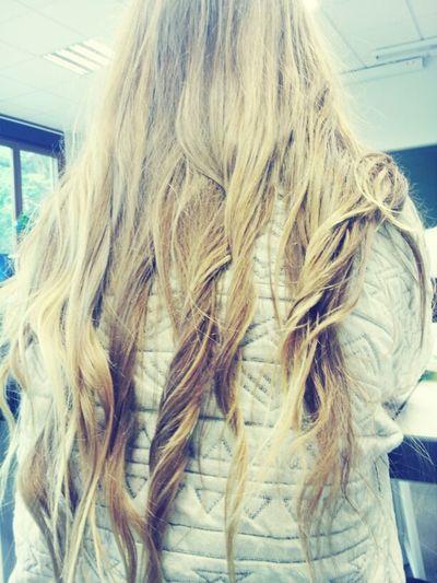 mes longs cheveux me manquent