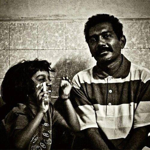 Father and daughter. From album, BrownCulture . Www.StrangeSadhu.Com Strangesadhu