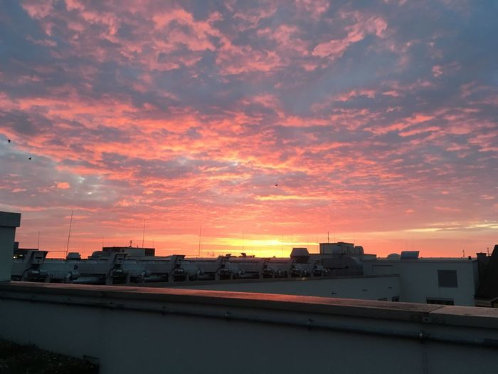 Sunset Building Exterior City Architecture Sky Built Structure Cloud - Sky No People Nature Outdoors