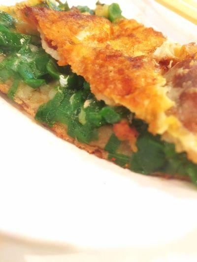 昨夜はお好み焼き屋さん♪豚入りねぎ焼き(^_^) おこのみやき ネギ焼き 粉もん Okonomiyaki Negiyaki Japanese Food Dinner Drinking Beer Drinkingdinner