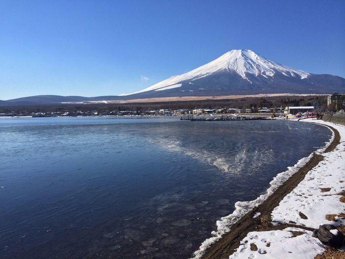 山中湖 富士山 World Heritage 山梨