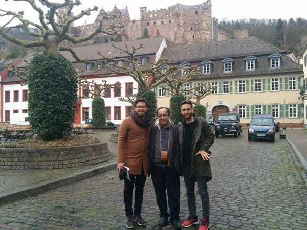 Alma Mater At Alt Heidelberg Du Feine. My Mazen My Hany