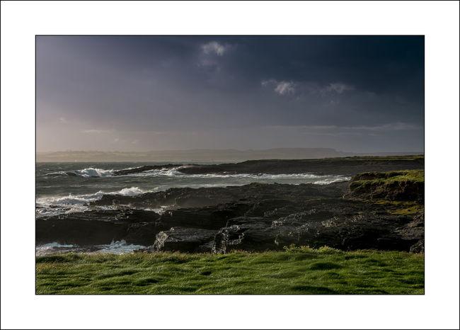 Coastline Coastline Landscape Grass Hook Head, Ireland Darkness And Light Evening Sunset Waves And Rocks The Week On EyeEm