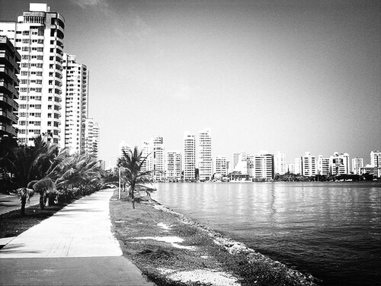 Black And White Magic City Travel Cartagena, Colombia