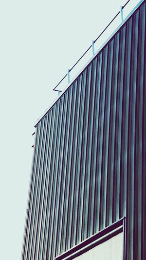 Factory Building Blue Sky Perspective Perspective Photography Angles Angles And Lines Sunlight, Shades And Shadows Colors And Patterns EyeEm Gallery Eyemphotography Eye4photography  EyeEm Best Shots