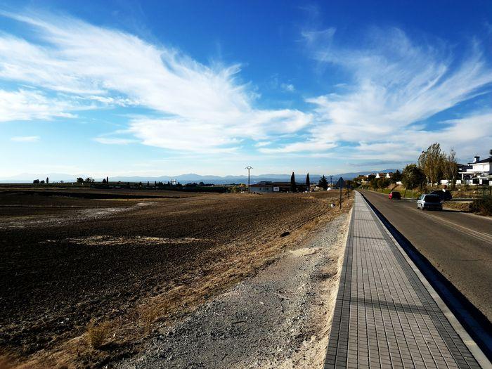 Carretera en el campo Sky The Way Forward Outdoors Cloud - Sky Scenics Day Nature No People